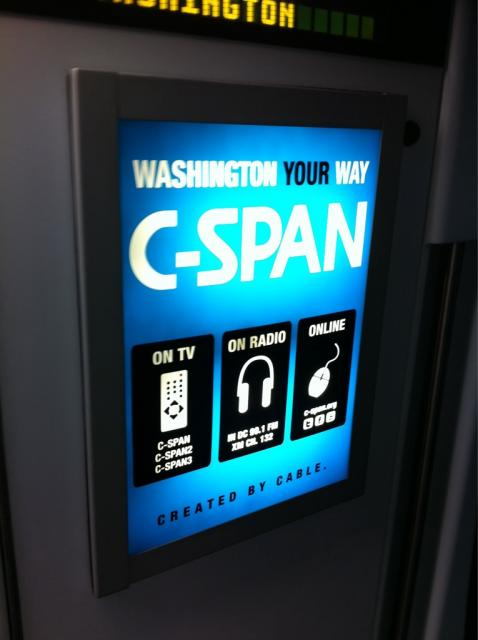 Is cspan getting coop money for media buy from cable companies?